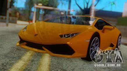 Lamborghini Huracan 2015 Horizon Wheels para GTA San Andreas