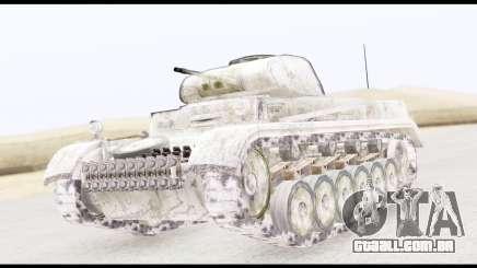 Panzerkampwagen II Snow para GTA San Andreas