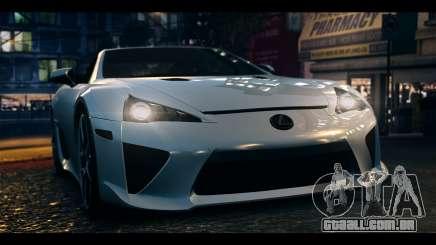 Lexus LF-A 2010 EPM para GTA 4