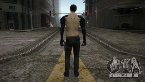 Adam Jensen para GTA San Andreas terceira tela