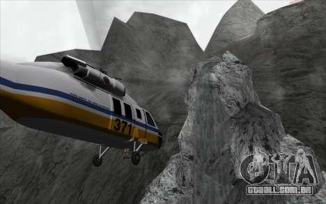 Cachoeira v0.1 Beta para GTA San Andreas segunda tela