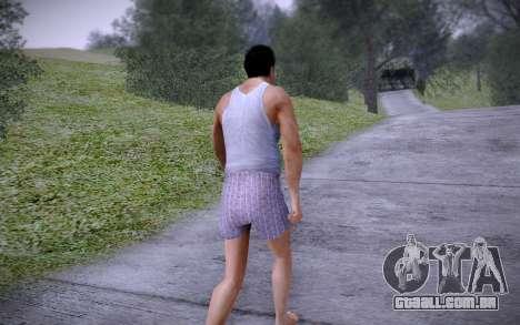Joe Home para GTA San Andreas por diante tela