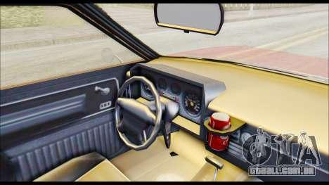 GTA 5 Cheval Picador para GTA San Andreas vista direita