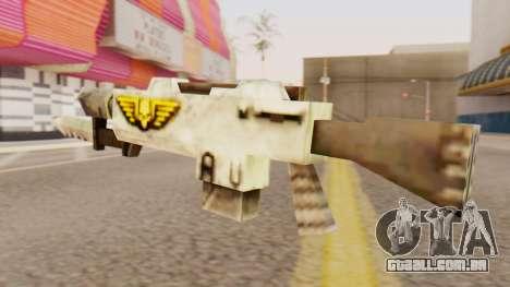 Warhammer M4 para GTA San Andreas segunda tela
