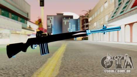 Fulmicotone Rifle para GTA San Andreas