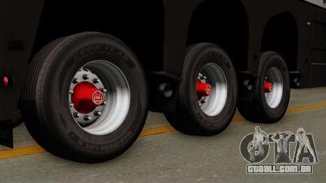 Trailer Glass v2 para GTA San Andreas traseira esquerda vista