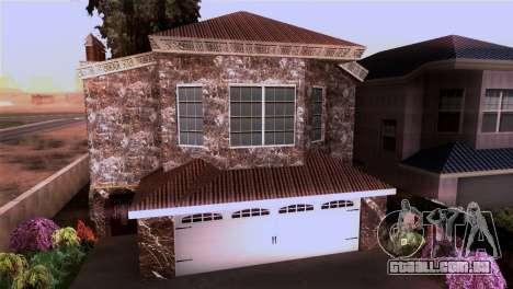 A mansão em estilo de Scarface para GTA San Andreas