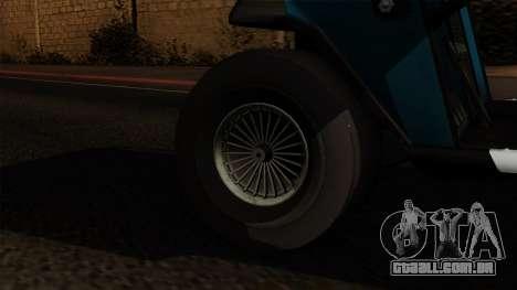 E-Z-GO Golf Cart v1.1 para GTA San Andreas traseira esquerda vista