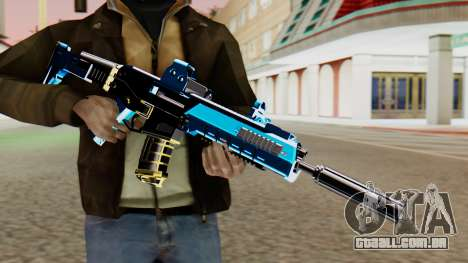Fulmicotone M4 para GTA San Andreas terceira tela