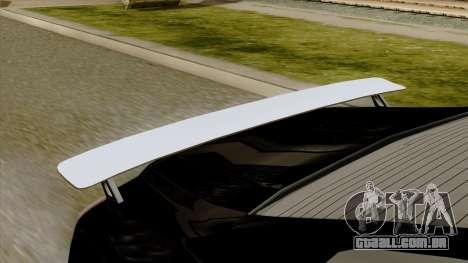 GTA 5 Albany Alpha v2 IVF para GTA San Andreas vista direita
