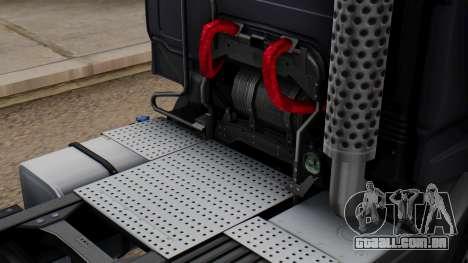 Renault Premuim 6x4 para GTA San Andreas vista traseira