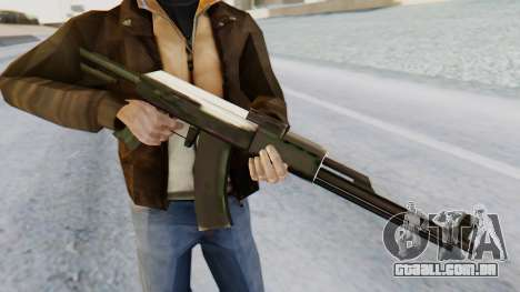 Arsenal AKM para GTA San Andreas terceira tela