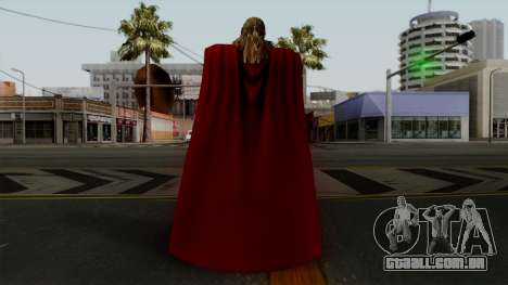Thor from The Avengers 2 para GTA San Andreas terceira tela