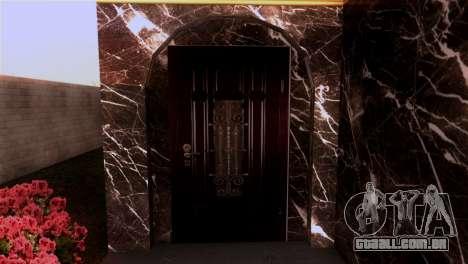 A mansão em estilo de Scarface para GTA San Andreas segunda tela