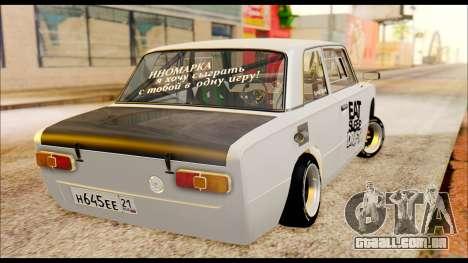 VAZ 21013 Esporte para GTA San Andreas traseira esquerda vista