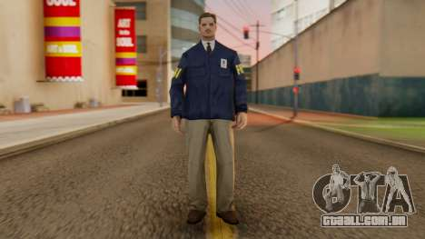 FBI Skin para GTA San Andreas segunda tela