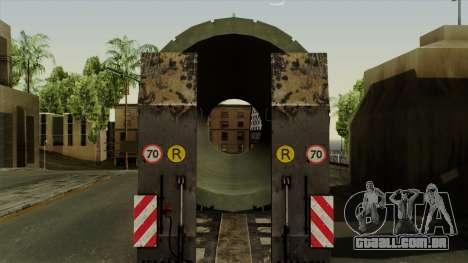 Trailer Cargos ETS2 New v3 para GTA San Andreas vista traseira
