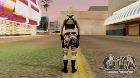 Wild Child from Resident Evil Racoon City para GTA San Andreas terceira tela