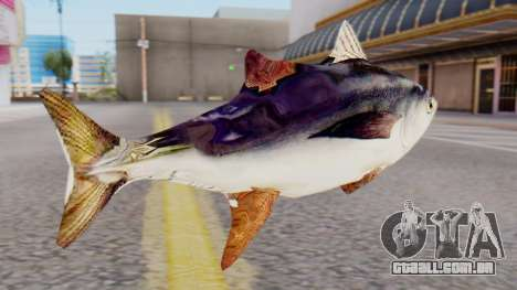 Tuna Fish Weapon para GTA San Andreas segunda tela