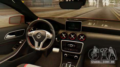 Mercedes-Benz A45 AMG 2012 para GTA San Andreas vista interior
