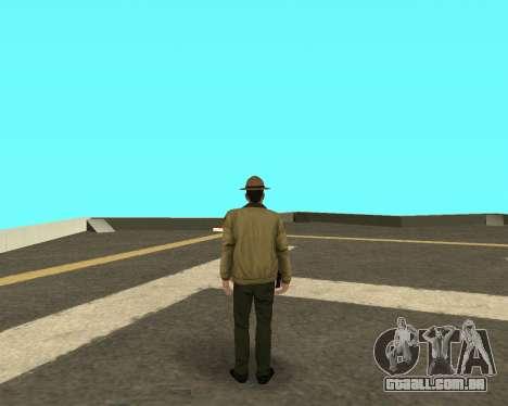 Novo skin para os policiais fora LVPD para GTA San Andreas segunda tela