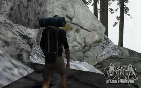 Cachoeira v0.1 Beta para GTA San Andreas quinto tela