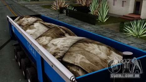 Trailer Tohap para GTA San Andreas vista direita