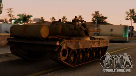 T-55AM Merida para GTA San Andreas esquerda vista