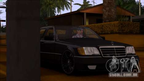 Mercedes-Benz S600 W140 para GTA San Andreas vista superior