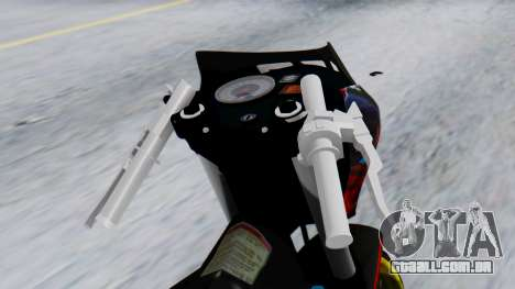 Satria FU Drag para GTA San Andreas vista direita