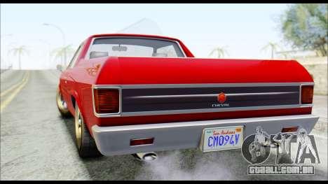 GTA 5 Cheval Picador para GTA San Andreas esquerda vista