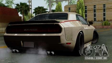 Dodge Challenger GT S para GTA San Andreas esquerda vista