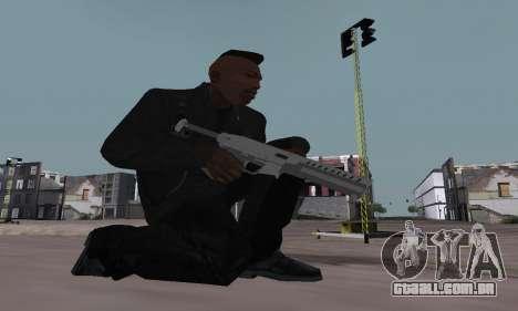Combat PDW from GTA 5 para GTA San Andreas terceira tela