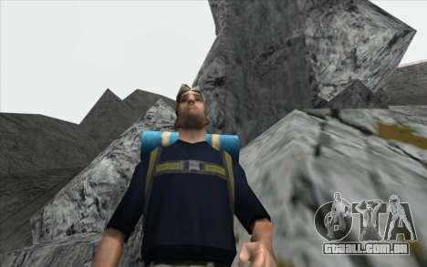 Cachoeira v0.1 Beta para GTA San Andreas sétima tela