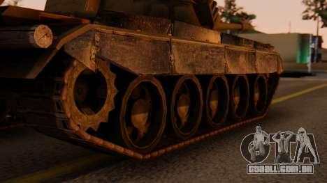 T-55AM Merida para GTA San Andreas traseira esquerda vista
