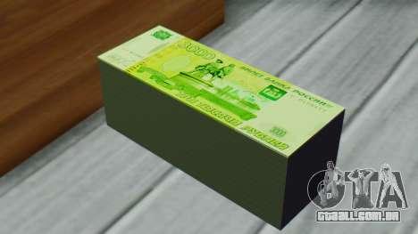 3000 Rublos para GTA San Andreas terceira tela