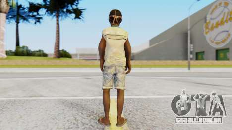African Child para GTA San Andreas terceira tela