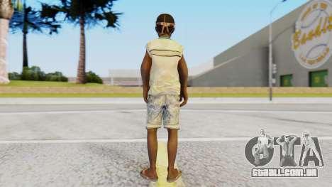 African Child para GTA San Andreas terceira tela