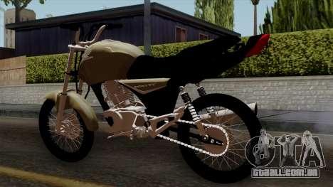 CB1 Stunt Imitacion para GTA San Andreas esquerda vista