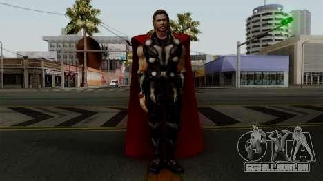 Thor from The Avengers 2 para GTA San Andreas segunda tela