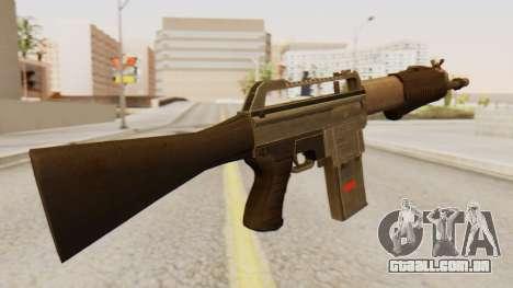 SPAS 15 para GTA San Andreas segunda tela