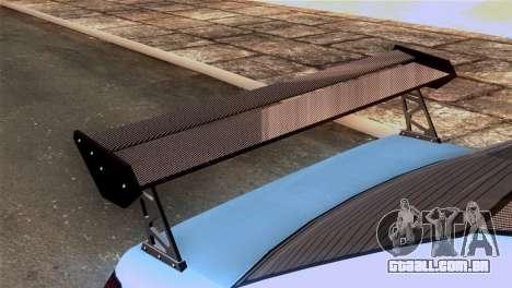 GTA 5 Declasse Asea IVF para GTA San Andreas vista traseira