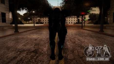 Dark Samus para GTA San Andreas terceira tela