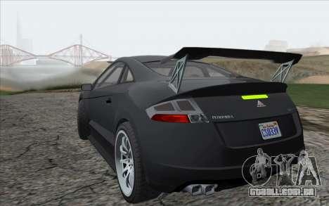 ENBSeries For Low PC v5.0 para GTA San Andreas segunda tela