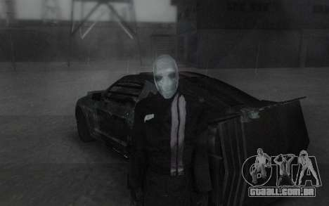 Frankenstein Skin para GTA San Andreas terceira tela