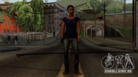 Rochelle New Textures para GTA San Andreas segunda tela