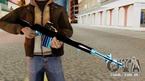 Fulmicotone Rifle para GTA San Andreas terceira tela