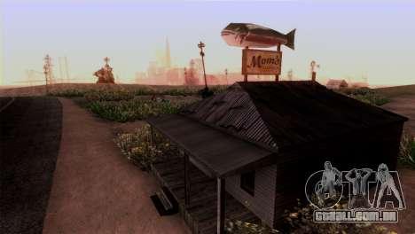 A Represa Sherman para GTA San Andreas terceira tela