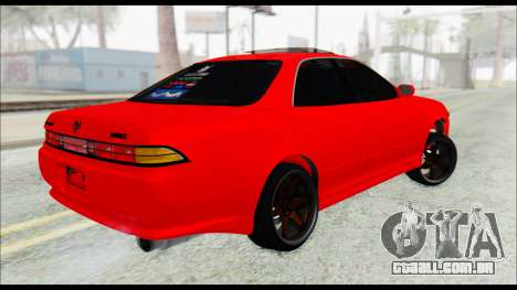 Toyota Mark 2 90 Stock2 para GTA San Andreas esquerda vista