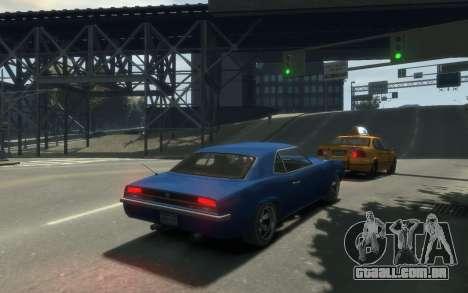 Declasse Vigero Cabrio para GTA 4 vista interior